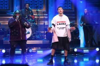 Bad Bunny Paid Tribute to Murdered Transgender Woman on 'The Tonight Show'