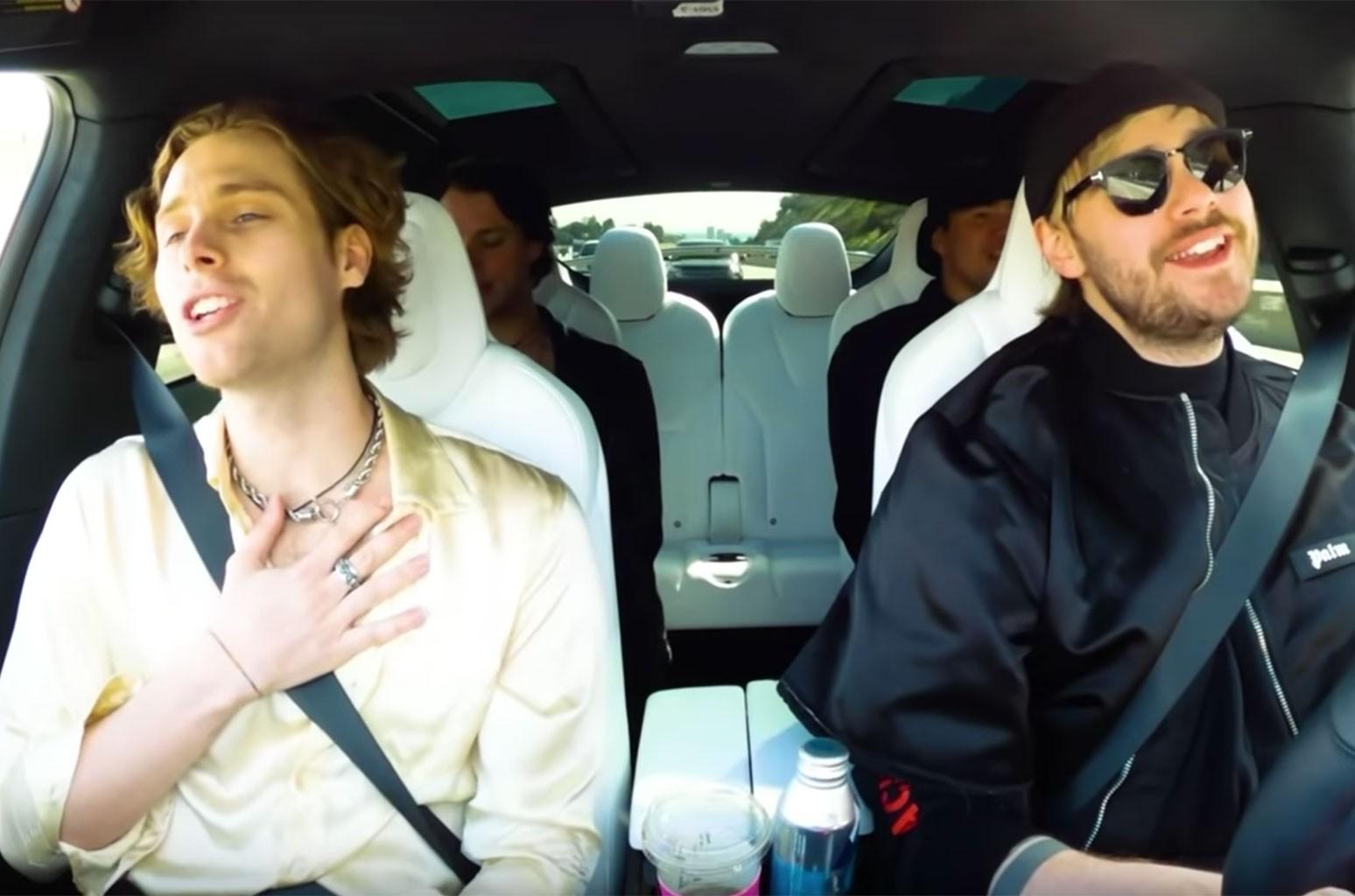 5 Seconds of Summer Carpool Karabloke
