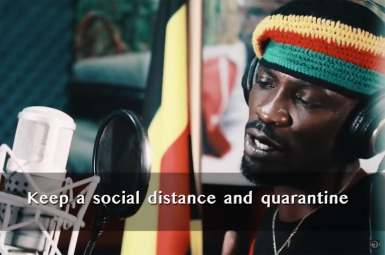 "Bobi Wine and Nubian Li, ""Coronavirus Alert"""