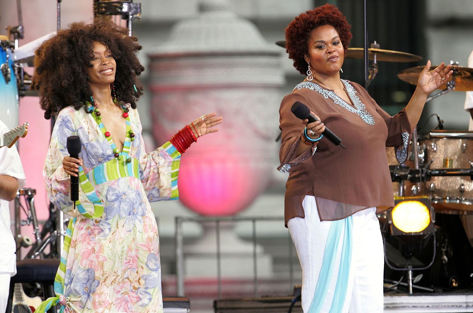 Erykah Badu and Jill Scott