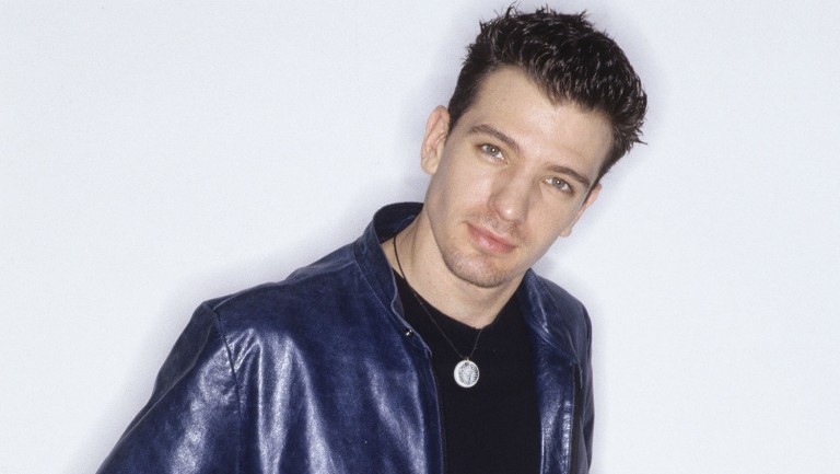 <p>JC Chasez of *NYSNC circa 2000. </p>