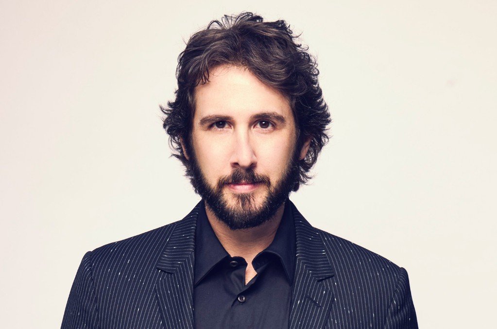 Josh Groban Jokes About His Shower Concerts: I Hope They're 'Not Creepy'!