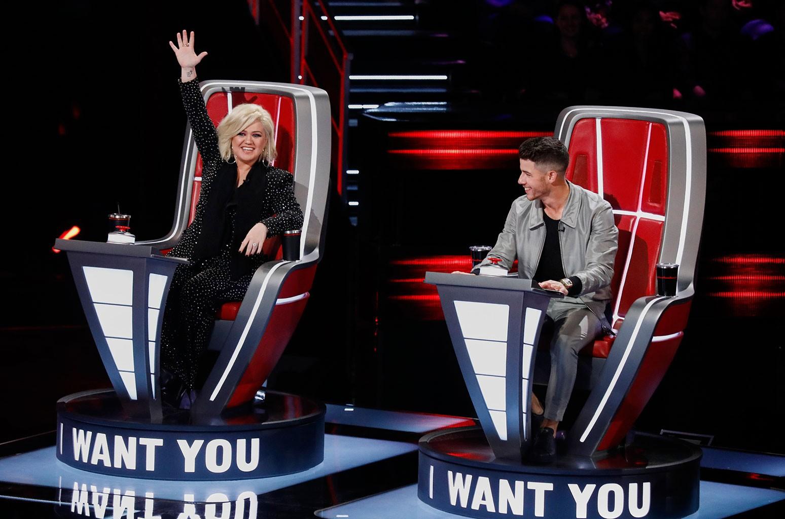 Kelly Clarkson and Nick Jonas