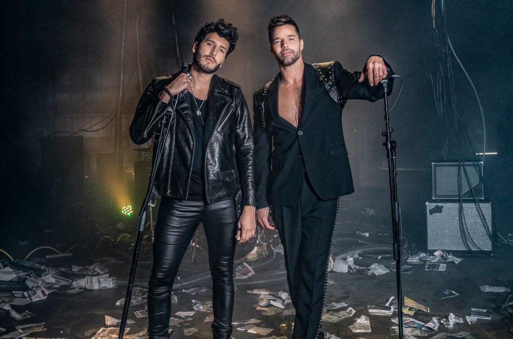 Sebastian Yatra and Ricky Martin