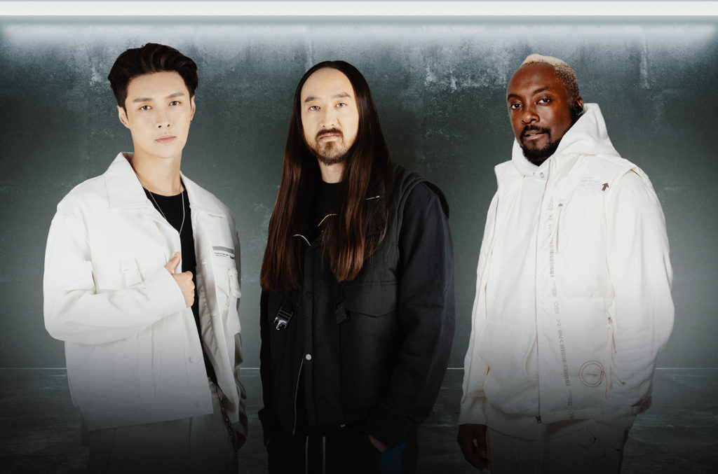 Steve Aoki, Lay Zhang and will.i.am