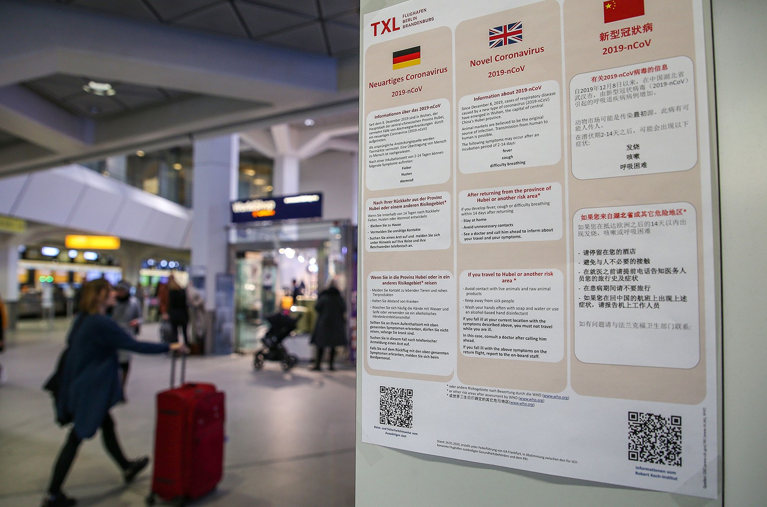 European Travel Ban, Coronavirus