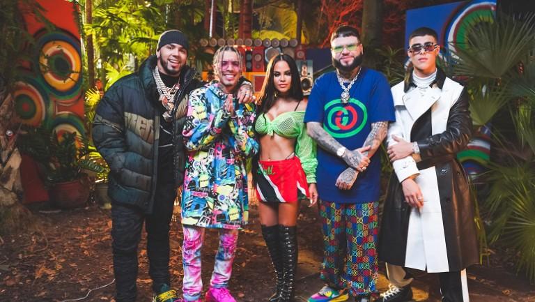 Latin Remix Of The Week Rauw Alejandro S Fantasias With Anuel Aa Natti Natasha Farruko Lunay Billboard