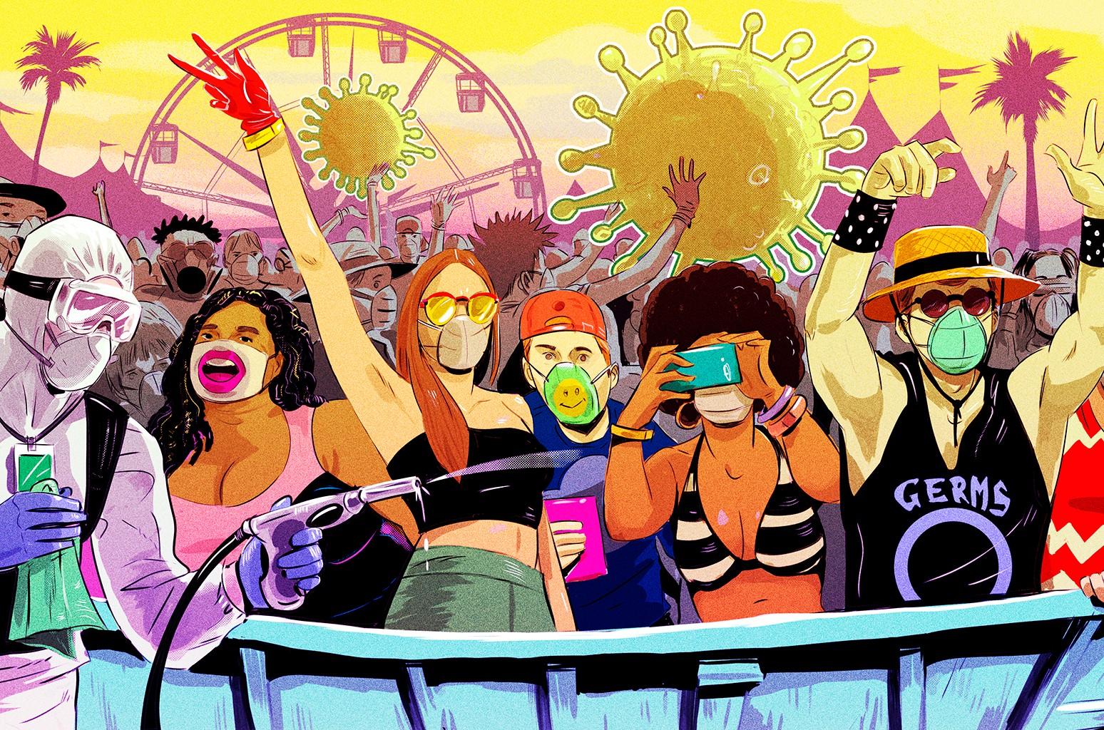 Concert Industry Faces Cruel, Cruel Summer as Coronavirus Spreads