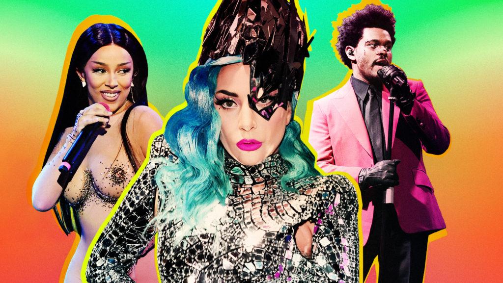 Doja Cat, Lady Gaga and The Weeknd