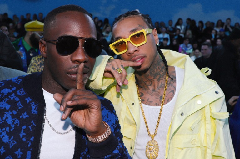 Dre London and Tyga