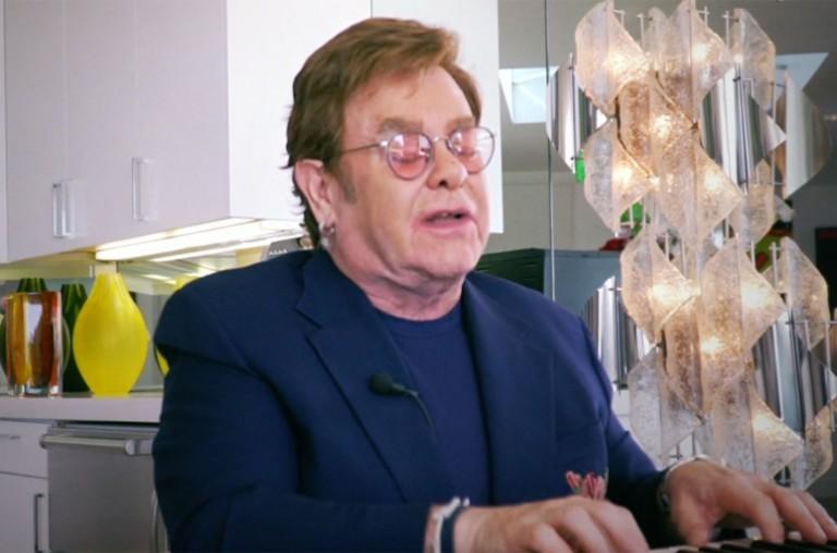 Elton John IHeart Living Room Concert for America.