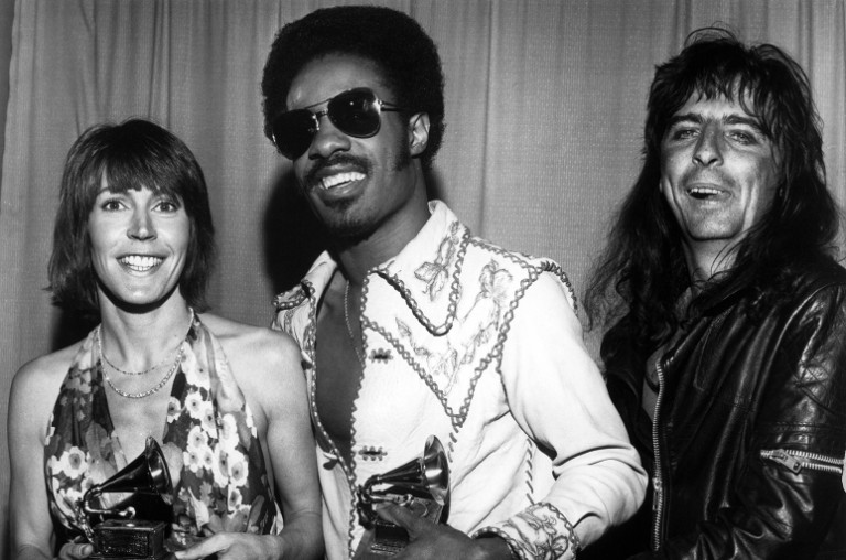 Helen Reddy, Stevie Wonder, Alice Cooper