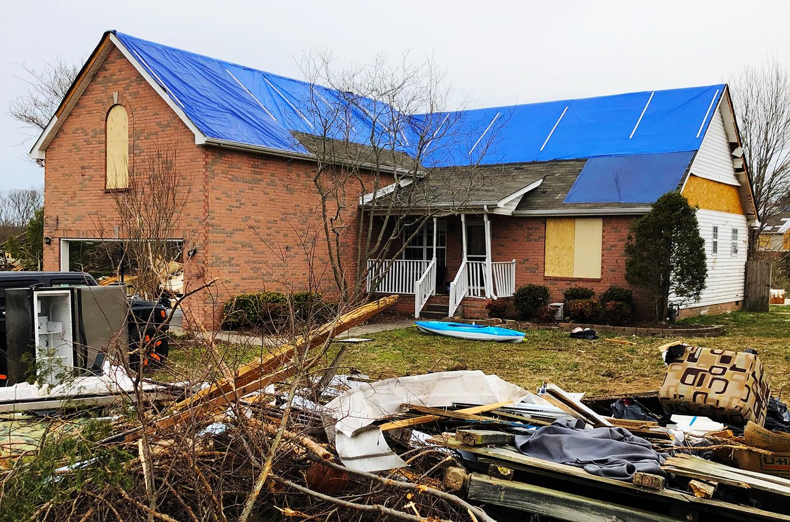 John Clore, Nashville Tornado