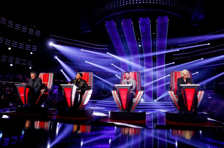 Blake Shelton, John Legend, Nick Jonas, Kelly Clarkson