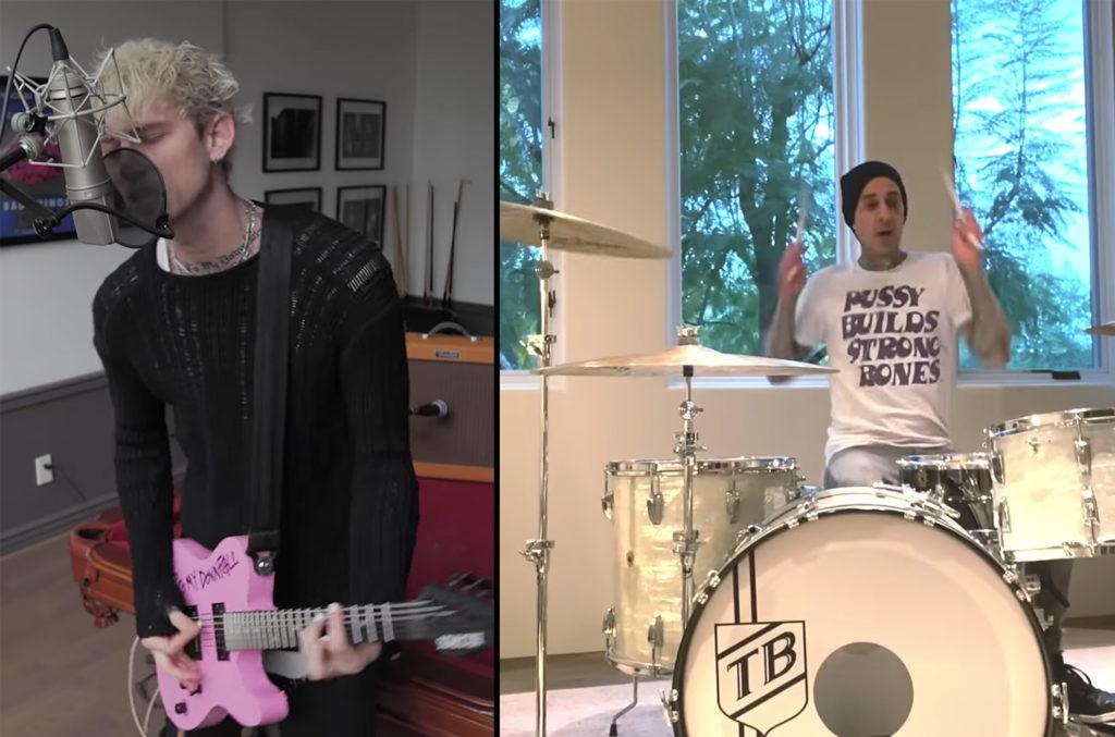 Machine Gun Kelly and Travis Barker