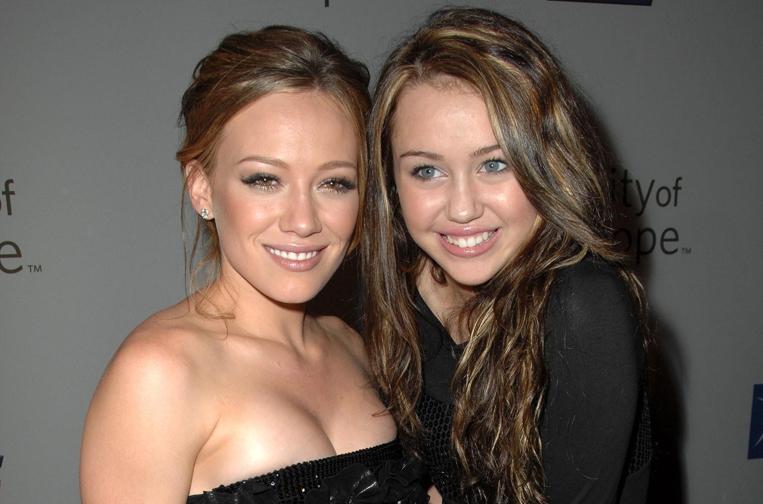 Hilary Duff, Miley Cyrus
