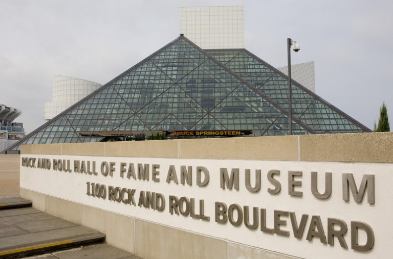 The Rock and Roll Hall of Fame Museum