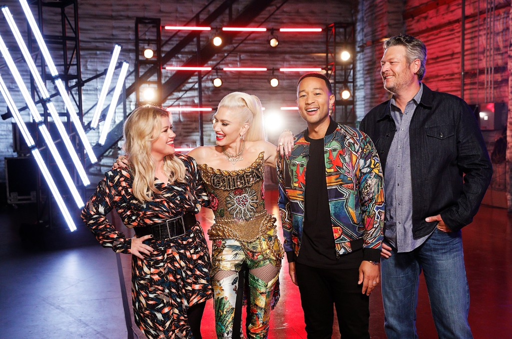 the voice judges past and present