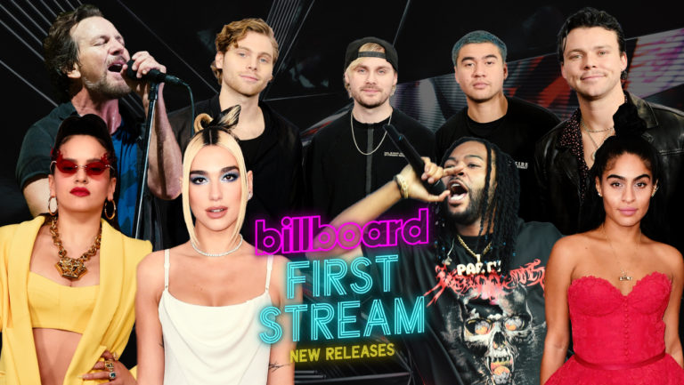 First Stream: New Music From Dua Lipa, PartyNextDoor, Pearl Jam & More