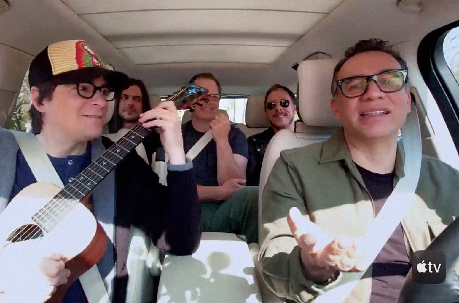 Weezer and Fred Armisen