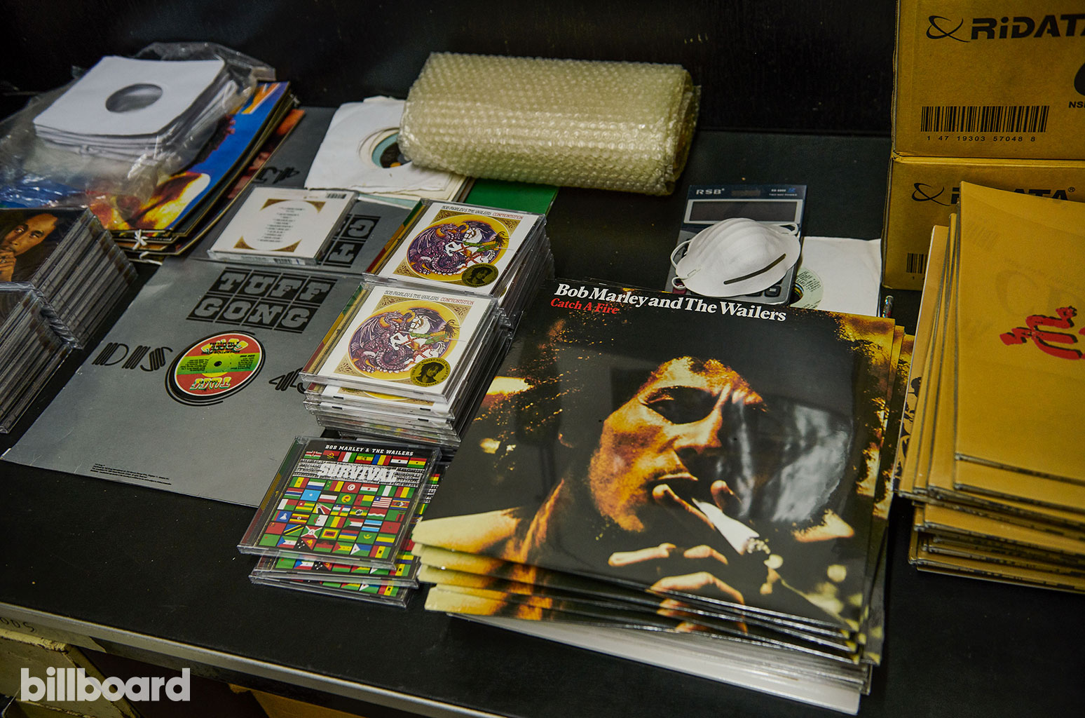 Tuff Gong Records in Kingston
