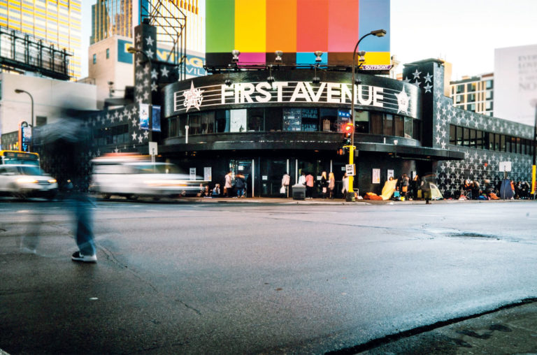 First Avenue in Minneapolis.