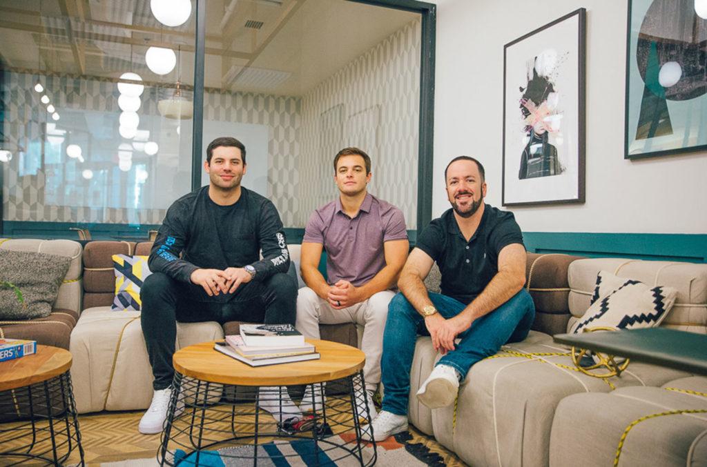 Cameron Fordham, Ben Hiott and Alex Dermer