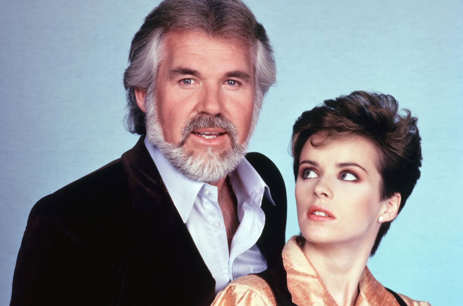 Kenny Rogers and Sheena Easton