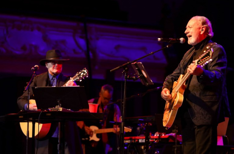 Micky Dolenz and Michael Nesmith
