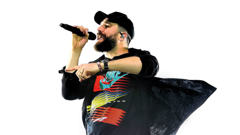 <p>Sam Hunt performed at Stagecoach in 2019.</p>