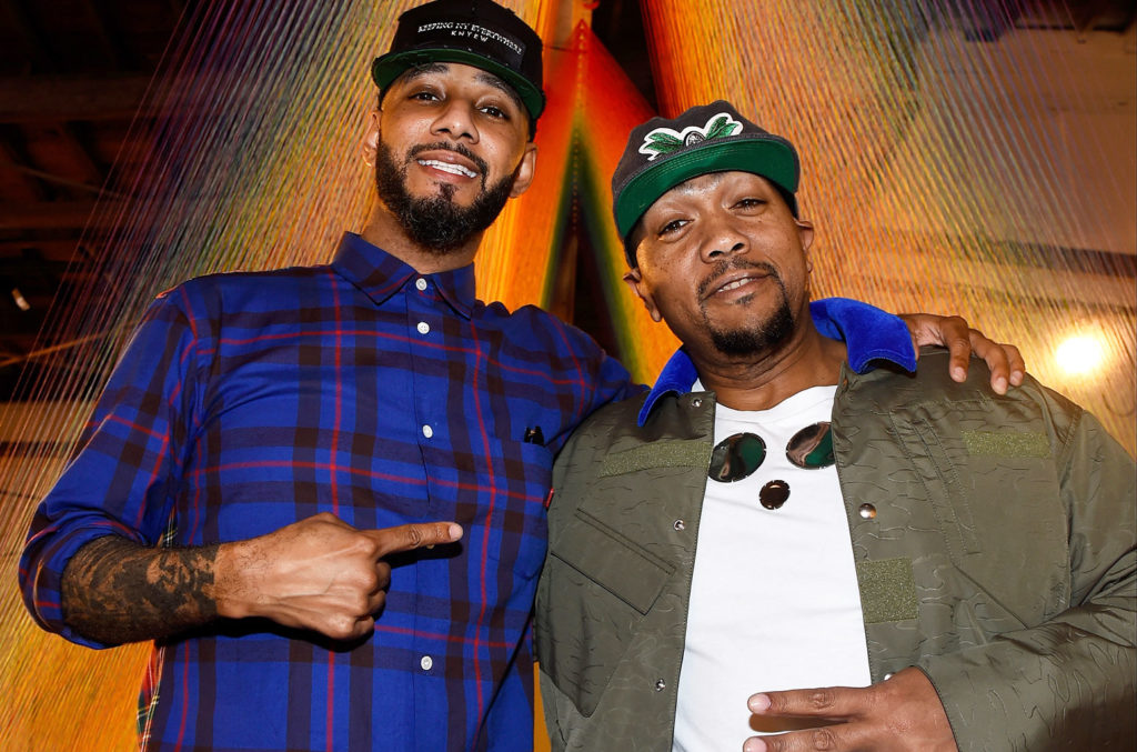 Swizz Beatz and Timbaland