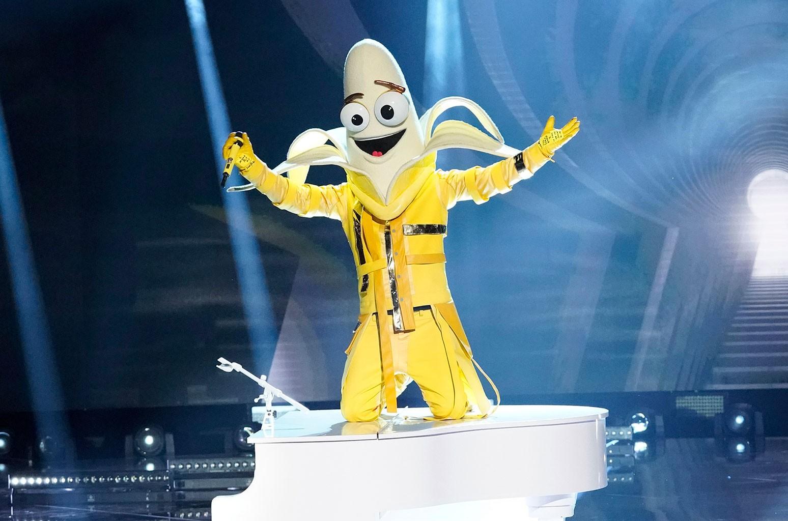 The Banana masked singer