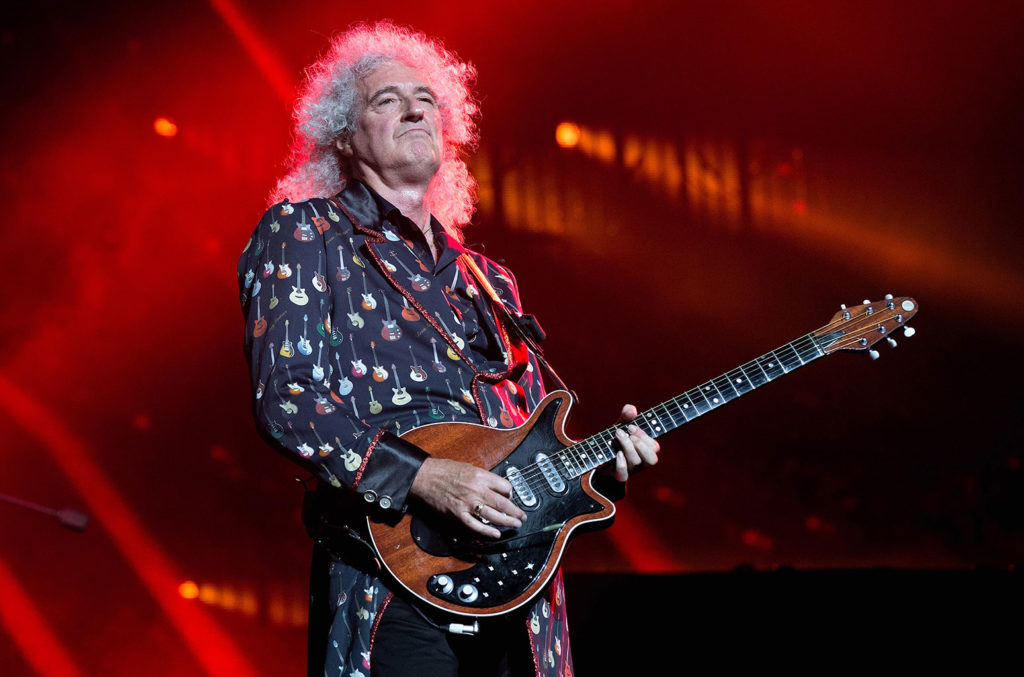 Brian May Queen