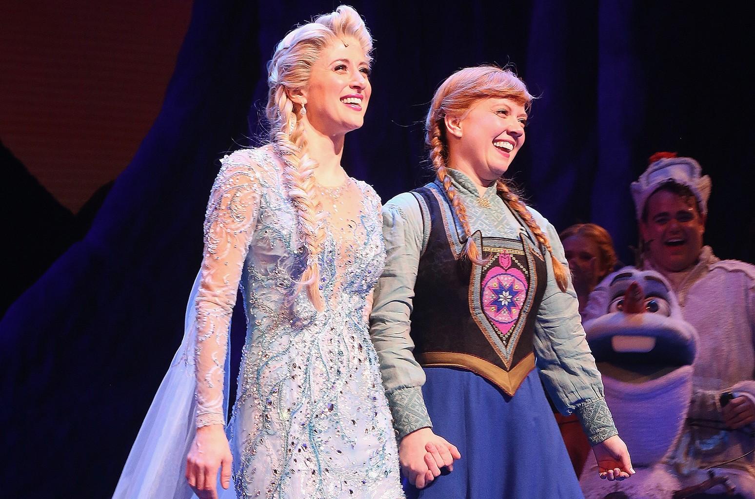 Frozen on Broadway, Disney