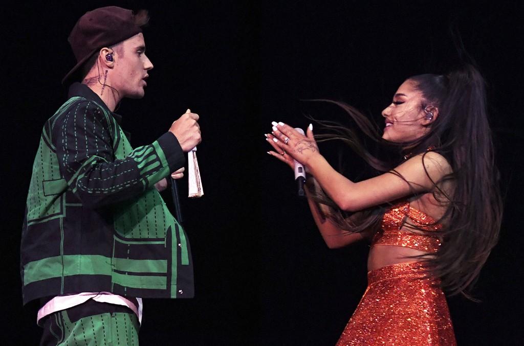 Justin Bieber & Ariana Grande's 'Stuck With U' Is the Loving ...