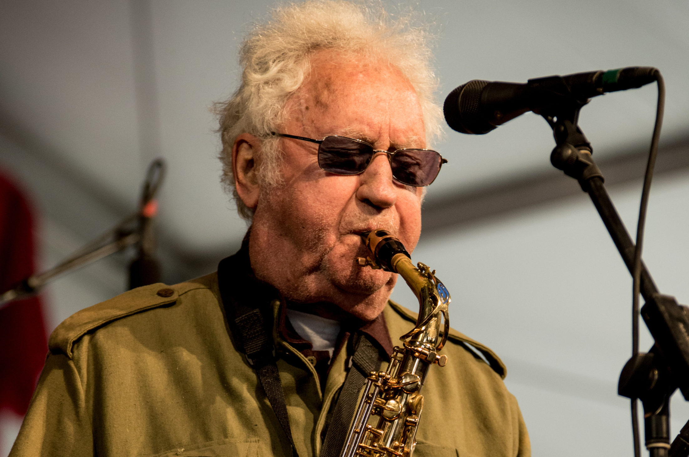 IMG LEON KONITZ, American Composer and Alto Saxophonist