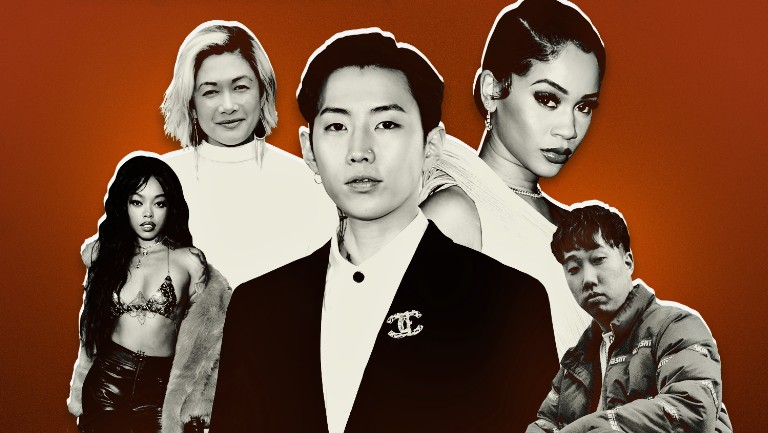 <p>Maliibu Miitch, MILCK, Jay Park, Saweetie and Ted Park</p>