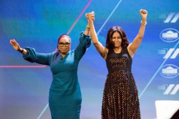 Oprah & Michelle Obama Are in a League of Their Own With Blockbuster Speaking Tours