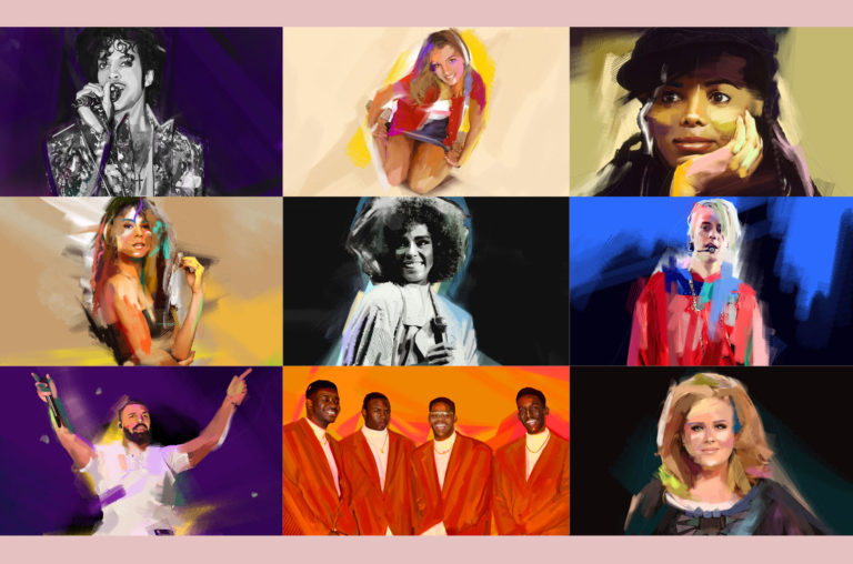 20 Fun Facts About Billboard's 'Greatest Pop Star by Year' Selections