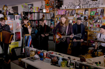 The Lumineers Perform For — and Atop — NPR's Tiny Desk: Watch