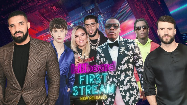 First Stream: New Music From Drake, Sam Hunt, Lindsay Lohan & More