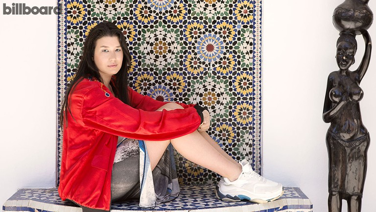 <p>Marjana Jaidi photographed on April29, 2020 in Rabat, Morocco. </p>