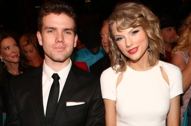 Austin Swift and Taylor Swift