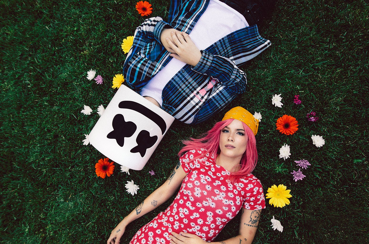 Halsey and Marshmello