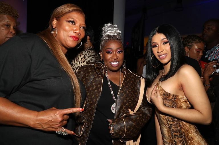 Queen Latifah, Missy Elliott and Cardi B