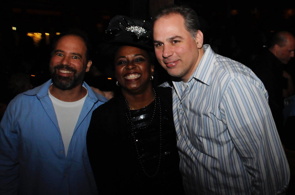 Steve Greenberg, Betty Wright, Mike Mangini