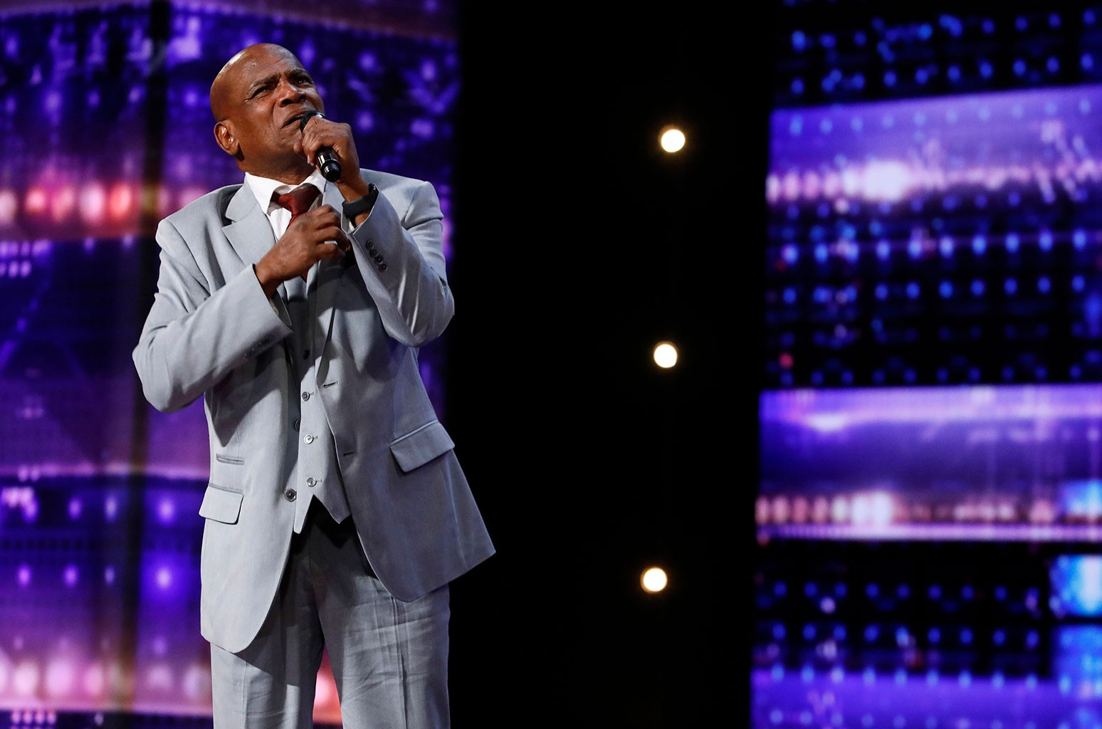 Elton John 'Moved to Tears' By Wrongfully Convicted Singer Archie Williams on 'America's Got Talent'