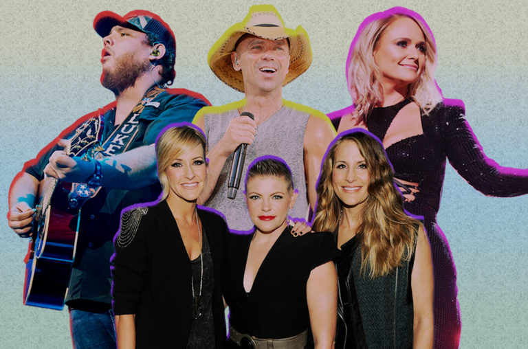 Luke Combs, Kenny Chesney, Miranda Lambert, Dixie Chicks