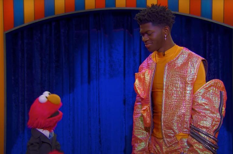 Lil Nas X Elmo Sesame Street