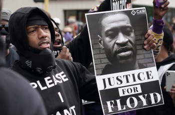 Nick Cannon, Halsey & More Musicians Join Protests Over George Floyd's Death